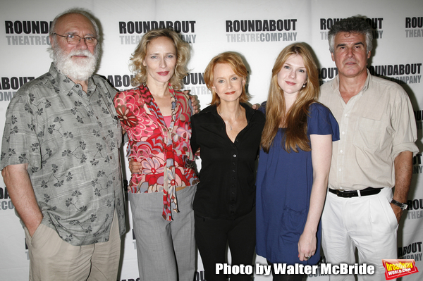 Phillip Bosco, Laila Robins, Swoosie Kurtz, Lily Rabe & Robin Lefevre attending the press Meet and Greet with the cast of The Roundabout Theatre Company production of HEARTBREAK HOUSE in New York City. August 23, 2006