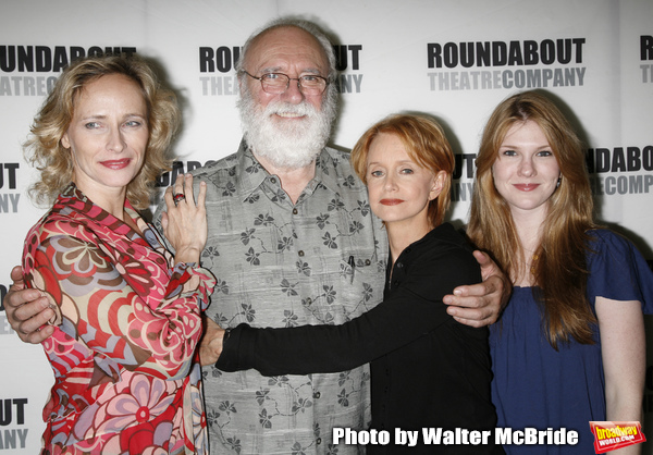 Phillip Bosco, Laila Robins, Swoosie Kurtz, Lily Rabe attending the press Meet and Greet with the cast of The Roundabout Theatre Company production of HEARTBREAK HOUSE in New York City. August 23, 2006