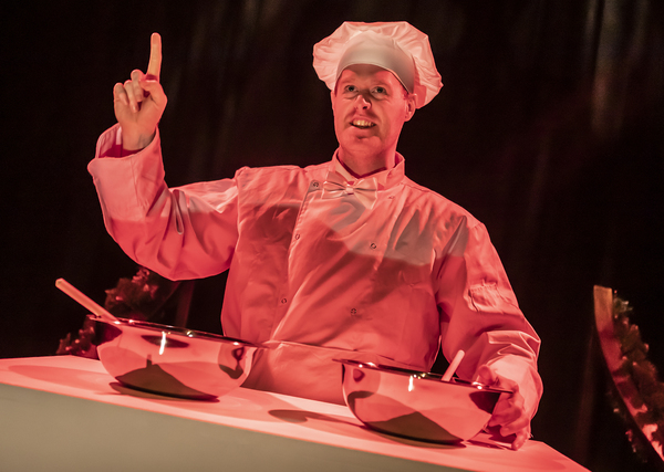 Photo Flash: First Look at CRIMES OF THE CHRISTMAS PUDDING at the Lichfield Garrick