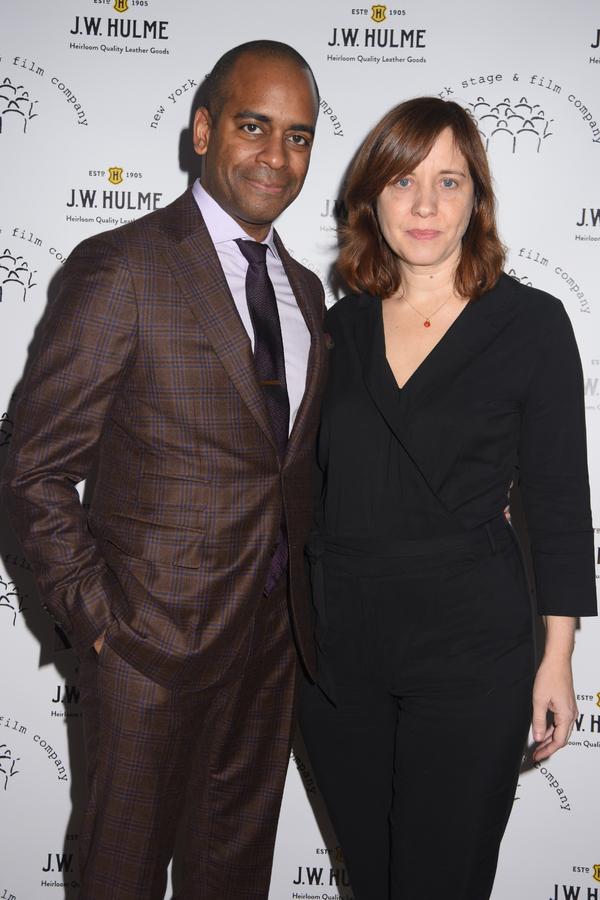 Daniel Breaker and Kate Whoriskey