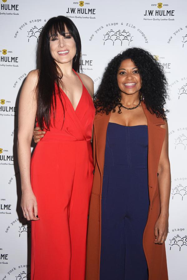 Dee Roscioli and Rebecca Naomi Jones
