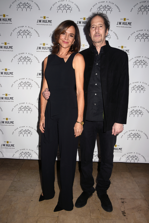 Polly Draper and Michael Wolff