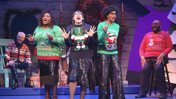 Photo Flash: First Look at RUBEN & CLAY'S CHRISTMAS SHOW On Broadway!