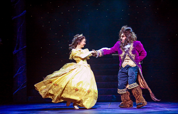 Photo Flash: Fall In Love With BEAUTY AND THE BEAST At Theatre Under The Stars
