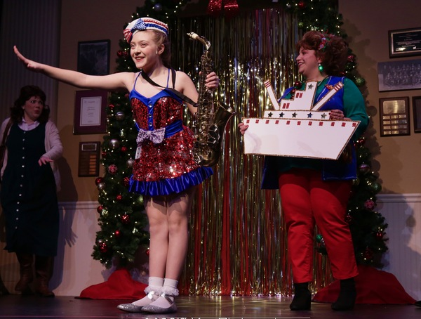 Photo Flash: GLITZ! THE LITTLE MISS CHRISTMAS PAGEANT MUSICAL Comes to Connecticut