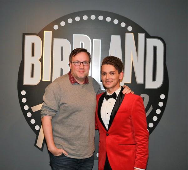 Robbie Rozelle and Michael Longoria