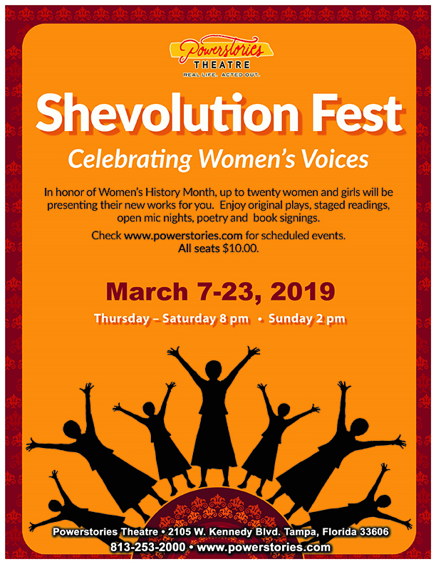 BWW Previews: SHEVOLUTION TO SHOWCASE WOMEN DURING MARCH'S WOMEN HISTORY MONTH at Powerstories Theatre