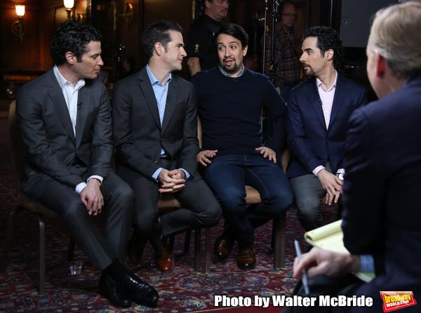 John Dickerson interviews Thomas Kail, Andy Blankenbuehler, Lin-Manuel Miranda and Alex Lacamoire