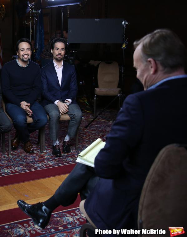 John Dickerson interviews Lin-Manuel Miranda and Alex Lacamoire