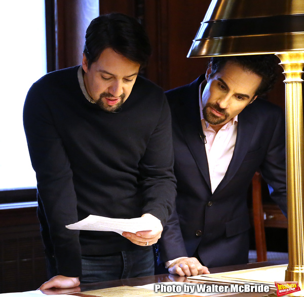 Exclusive Photo Coverage: HAMILTON Creatives Visit the Library of Congress