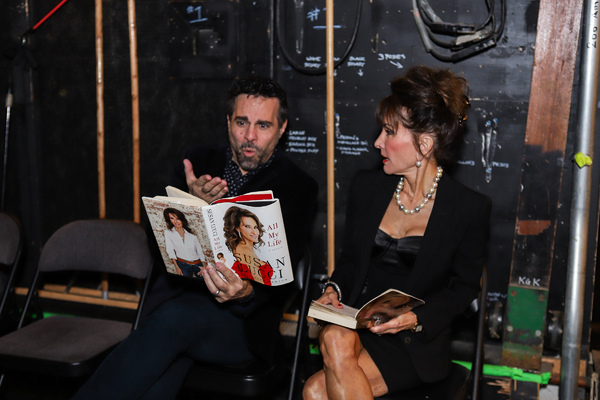Photo Coverage: Mario Cantone, Susan Lucci & More Read Up Backstage at CELEBRITY AUTOBIOGRAPHY