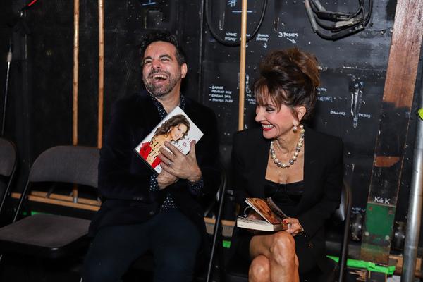 Mario Cantone and Susan Lucci
