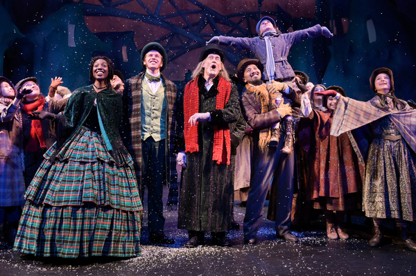 The cast of A.C.T.'s celebrated production of the Charles Dickens classic, A C Photo
