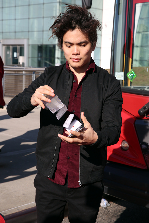 Photo Flash: America's Got Talent Winner & THE ILLUSIONISTS Star Shin Lim Ride of Fame Induction Ceremony