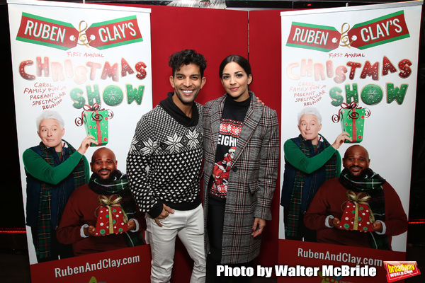 Photo Coverage: Inside the Opening Night Party For RUBEN AND CLAY'S CHRISTMAS SHOW