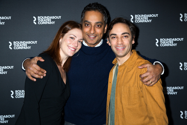 Photo Coverage: Roundabout and Fiasco Theater's MERRILY WE ROLL ALONG Meets the Press!
