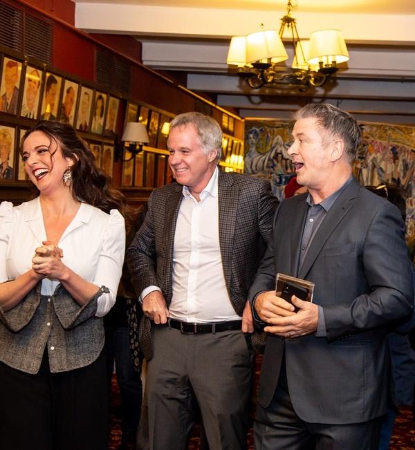 Melissa Errico, Patrick McEnroe & Alec Baldwin Photo