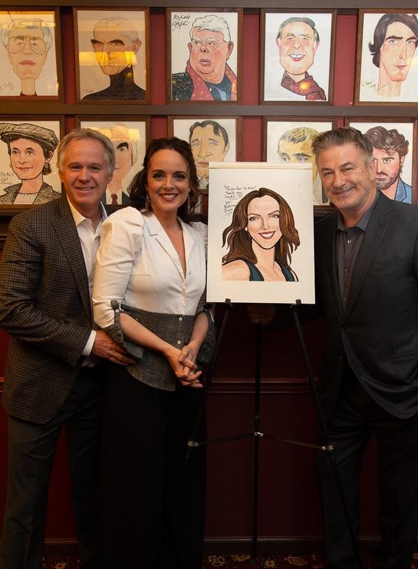 Patrick McEnroe, Melissa Errico & Alec Baldwin Photo