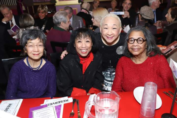 Lori Tan Chinn with Eleanor Yung, Baayork Lee and Mary Alice