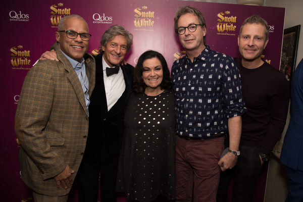 Gary Wilmot, Nigel Havers, Dawn French, Julian Clary, Paul Zerdin