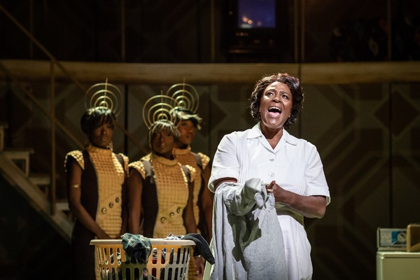Photo Flash: First Look at the West End Production of CAROLINE, OR CHANGE