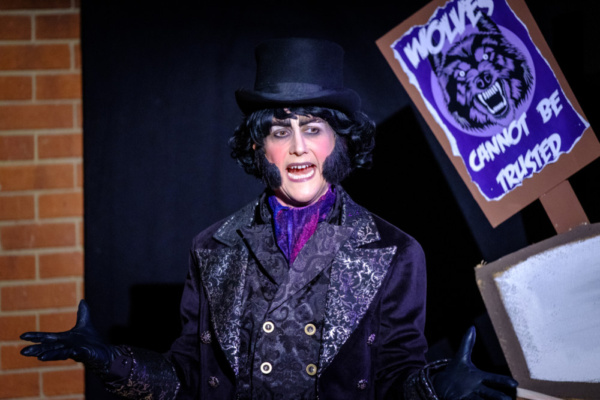 Kerry Frampton as Victor von Crepe in Red Riding Hood vs The Wolf, Stantonbury Theatre, 2018-19