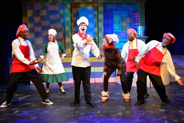 Photo Flash: CURIOUS GEORGE: THE GOLDEN MEATBALL Opens At Red Branch Theatre Company Tomorrow