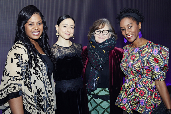 Regina Victor, Danya Taymor, Hallie Gordon and  Steppenwolf ensemble member Celeste  Photo