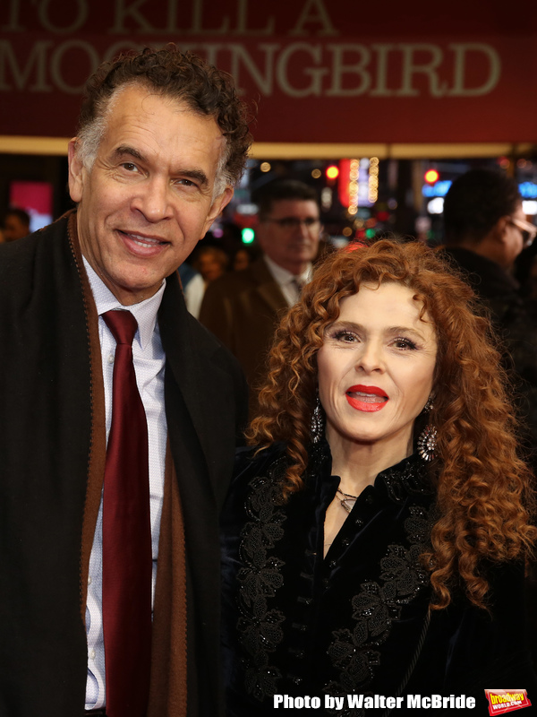 Brian Stokes Mitchell andBernadette Peters