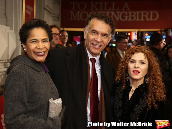 Allyson Tucker, Brian Stokes Mitchell and Bernadette Peters