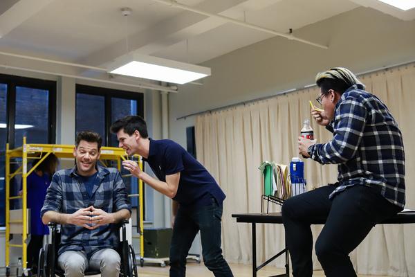 Ryan Knowles, Chris McCarrell, and Jorrel Javier. Photo