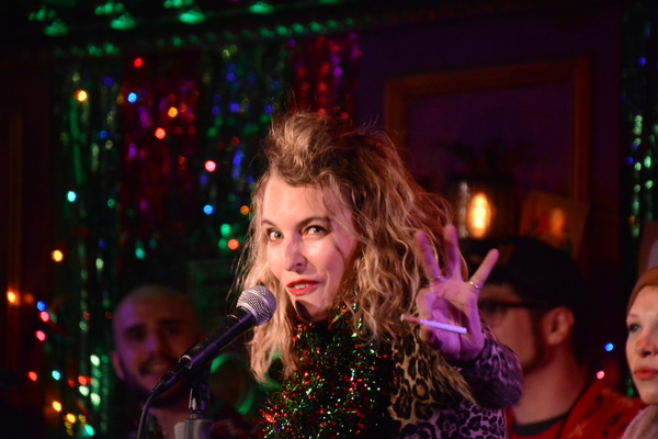 Photo Coverage: Inside the 2018 Joe Iconis Christmas Extravaganza at Feinstein's/54 Below