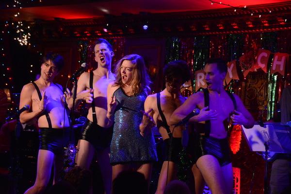Liz Lark Brown and the Yuletide Dance Squad