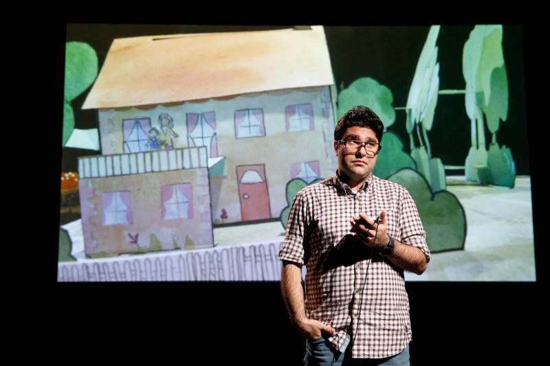 BWW Review:  Iranian Playwright Nassim Soleimanpour's NASSIM Encourages Cultural Understanding Through Language