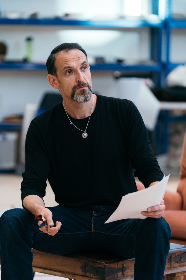 Photo Flash: Inside Rehearsal For Kiln Theatre's APPROACHING EMPTY