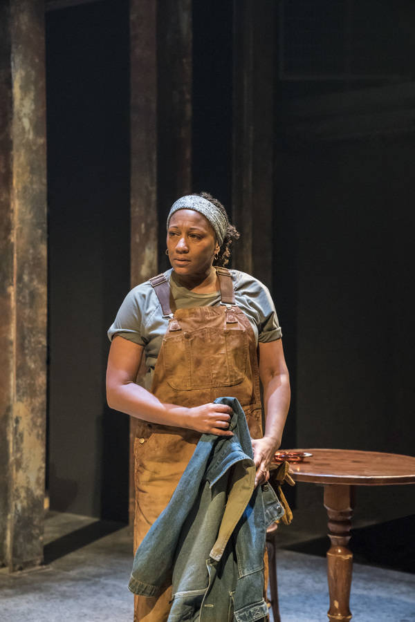Photo Flash: First Look at SWEAT at Donmar Warehouse