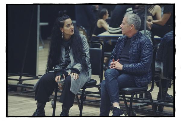 Sonya Tayeh and Marc Platt Photo