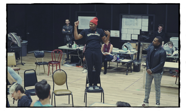 Photo Flash: See Vanessa Hudgens, Jordan Fisher During Rehearsals for RENT LIVE
