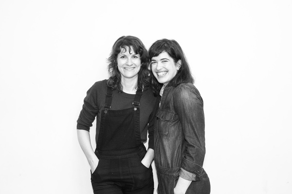 Amy Staats (Playwright, Eddie) and Megan Hill (Dave)