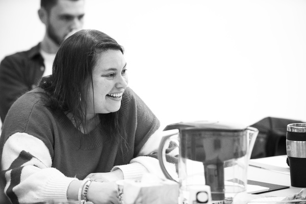 Photo Flash: In Rehearsal with Atlantic's EDDIE AND DAVE