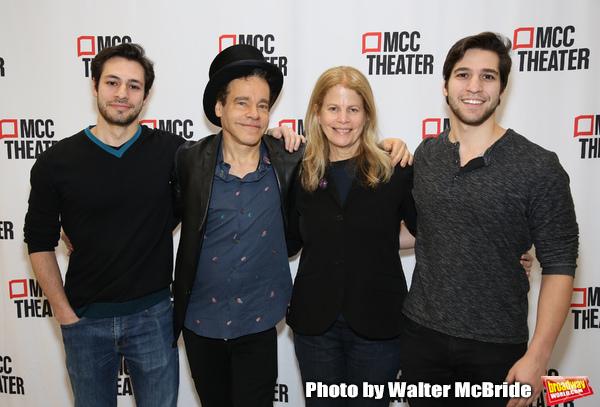 Creative Team: Choreographer Jeff Kuperman, writer Steven Sater, writer/director Jessie Nelson, and choreographer Rick Kuperman