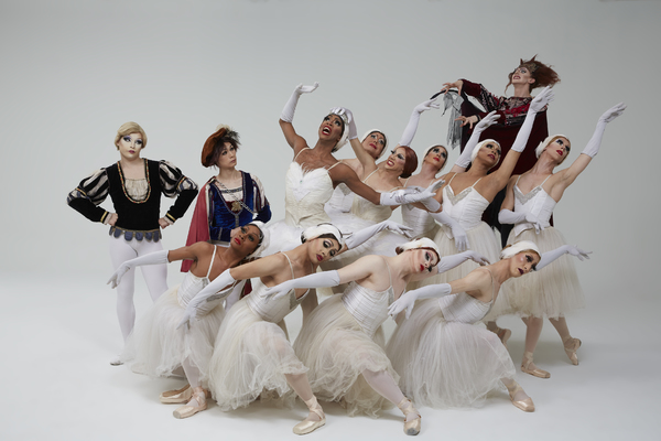 Les Ballets Trockadero de Monte Carlo, photo by Zoran Jelenic.  Photo
