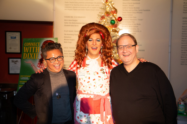 Alec Mapa, Dixie Longate and Marc Cherry Photo