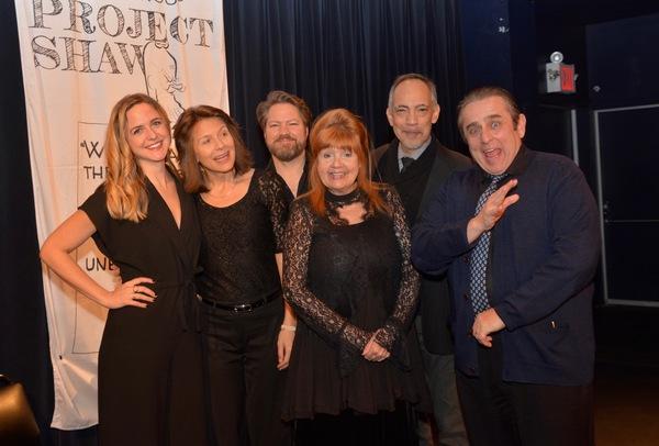 Tonight's Cast-Clea Alsip, Jennifer Van Dyck, Robert Petkoff, Annie Golden, Thom Sesm Photo