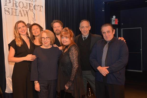 Pamela Hunt joins with tonight's cast-Clea Alsip, Jennifer Van Dyck, Robert Petkoff, Annie Golden, Thom Sesma and Michael McCormick