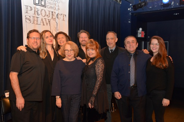 Stage Managers Nathan K. Claus and Lindsay Warnick, Clea Alsip, Jennifer Van Dyck, Pamela Hunt, Robert Petkoff, Annie Golden, Thom Sesma and Michael McCormick