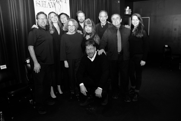 David Staller, Stage Managers Nathan K. Claus and Lindsay Warnick, Clea Alsip, Jennifer Van Dyck, Pamela Hunt, Robert Petkoff, Annie Golden, Thom Sesma and Michael McCormick