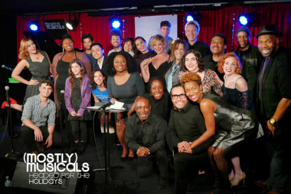 The (mostly)musicals 30 family (photo: Eric Cornwell) Front: Jeffrey Polk, Jacquelin Lorraine, Gabriel Gonzalez, April Nixon Middle: Gregory Nabours, Iara Nemirovsky, Laura Harrison, Elizabeth Adaba