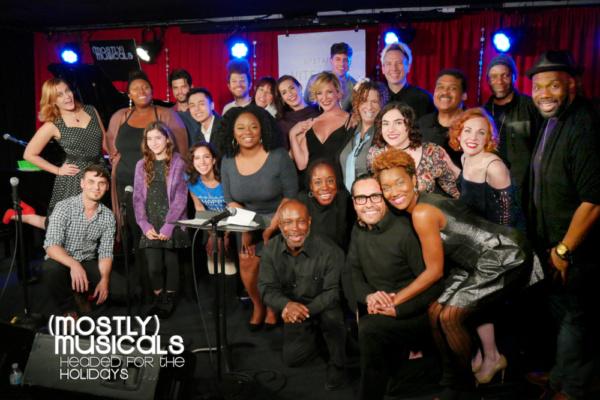 The (mostly)musicals 30 family (photo: Eric Cornwell) Front: Jeffrey Polk, Jacquelin Lorraine, Gabriel Gonzalez, April Nixon Middle: Gregory Nabours, Iara Nemirovsky, Laura Harrison, Elizabeth Adaba