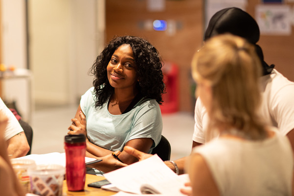 Photo Flash: Inside Rehearsal For LEAVE TO REMAIN at the Lyric Hammersmith